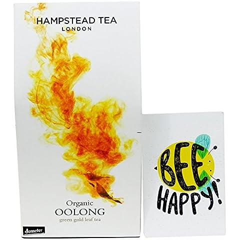 Hampstead Tea - Thè Oolong - in Foglia da Agricoltura Biodinamica Certificato Demeter- 50 gr - - Biodinamica Tè Verde