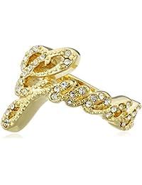 Guess Damen-Ring Vergoldet teilvergoldet Zirkonia weiß UBR21202