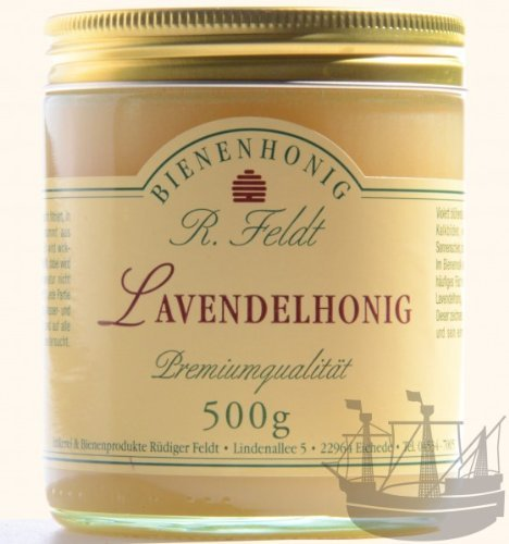 Preisvergleich Produktbild Lavendel Honig, aromatisch-blumiges Aroma, Cremig, 500g