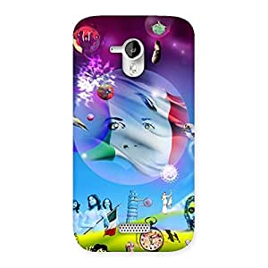 Wonder World Back Case Cover for Micromax Canvas HD A116