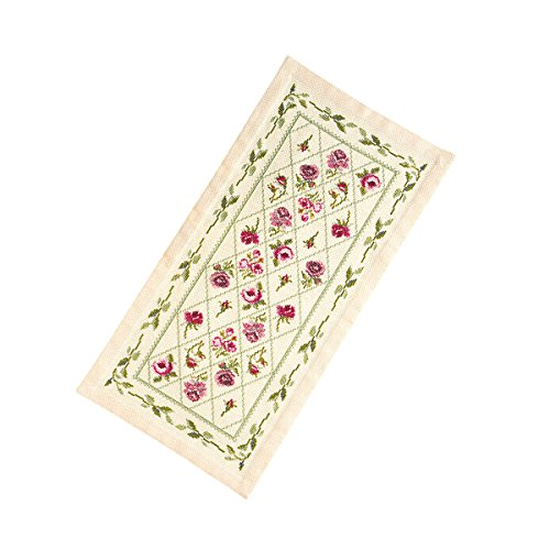 Orimupasu Kreuzstich-Stickerei-Kit Tischdecke & amp; Tischmitte Blatt Garland Beshu 1178 -
