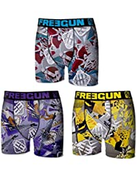 Freegun - Lot de 3 boxers - Homme