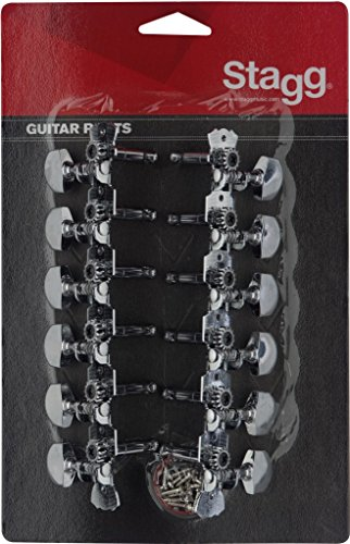 Stagg KG679 Stimmmechanik für 12-saitige Western- oder Dreadnought-Akustikgitarre