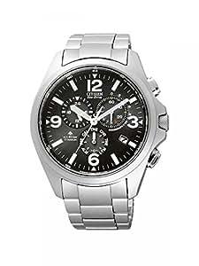 Citizen Promaster Herren-Armbanduhr Chronograph Quarz Titan Funk As4030-59E