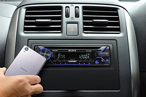Sony mex n bt autoradio con cd controllo vocale con siri eyes