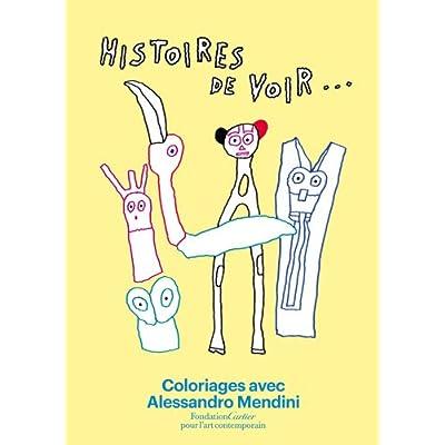 Histoires de voir, Coloriages avec Alessandro Mendini