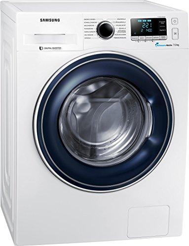 Samsung WW71J5436FW/EG Waschmaschine Frontlader/A+++/1400 UpM/kg/SchaumAktiv-Technologie/FleckenIntensiv/weiß
