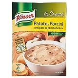Knorr - Crema con Patate e Porcini, con Ingredienti Naturali - 5 confeizoni da 100 g [500 g]