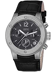 Esprit Collection Damen-Armbanduhr Anteress Night Chronograph Quarz Leder EL101282F01