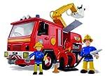 Pompier Sam Jupiter avec 2 figurines