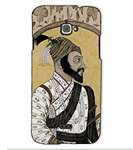 Fuson Designer Back Case Cover for InFocus M350 (Shahaji Raje Theme)