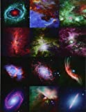 Twelve years of Spitzer Space Telescope images. Graph paper journal: 160 pages, 0,5 inch squares, format 8.5 x 11 inch,