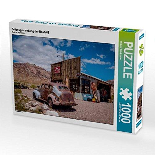 Zeitzeugen entlang der Route66 1000 Teile Puzzle quer Preisvergleich