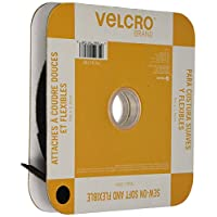 Velcro(r) Brand Fasteners Velcro(R) Brand Sew-On Soft and Flexible Tape 5/8 x 30inches, Black, 30
