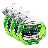 SONAX 3X 03864000 Scheibenreiniger Konzentrat Green Lemon 3L