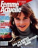 FEMME ACTUELLE [No 211] du 10/10/1988 - DES PLANTES QUI NE COUTENT RIEN - MODE CHIC - LA REVOLTE DES NON-FUMEURS - LES CRITERES D'ACHAT D'UNE VOITURE NEUVE - ORIGINAL / UN PULL A MOTIFS APPLIQUES...