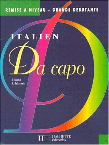 Da Capo : italien. Remise à niveau