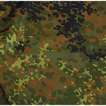 bundeswehr camouflage stoff meterware robuster baumwollstoff im 5 farben tarndruck. Black Bedroom Furniture Sets. Home Design Ideas