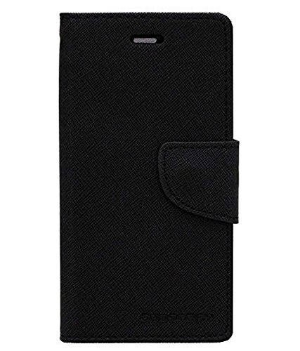 Gohaps Flip Cover for Micromax Canvas Nitro E311 Luxury Mercury Magnetic Lock Diary Wallet Style Flip Cover Case for Micromax Canvas Nitro E311-Black
