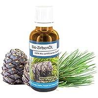 Gesundheitskissen.at Original Bio Zirbenöl (30ml) | Duft der Alpen | Zertifiziert, biologisch, naturrein preisvergleich bei billige-tabletten.eu