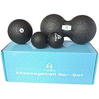 Curiba Faszienbälle Massagebälle ALS Einzelball, Duoball, 3er-Set oder 4-in-1 Kombi - Ausführliche Anleitung