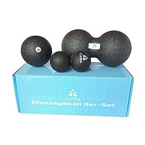 Curiba Faszienblle Massageblle Einzelball Duoball 3er Set Oder 4 In 1 Kombi Ausfhrliche Anleitung