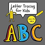 ABC Letter Tracing for Kids: Alphabet Letter Tracing Practice Pages, ABC Learning for Preschool (Large, 8.5 x 11 in.): Volume 6