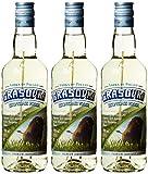 Grasovka Bisongrass Wodka (3 x 0.5 l)