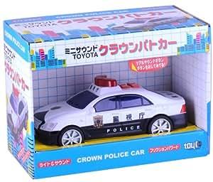 Voiture de police Mini sonore Couronne (japon importation)