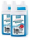 Cunea 2 Liter Milchsystemreiniger Milchschaum-Reiniger Milchdüsenreiniger Michschaumdüsenreiniger für Kaffeevollautomaten