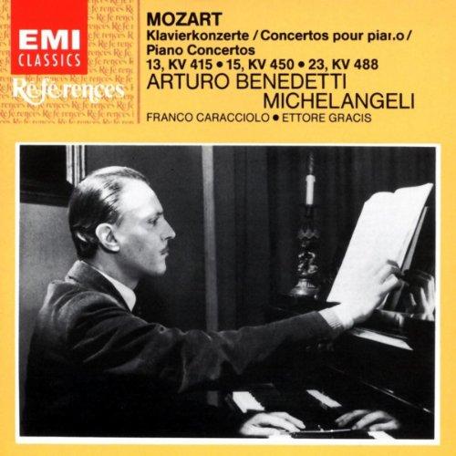 Mozart: Piano Concertos Nos. 13, 15 & 23