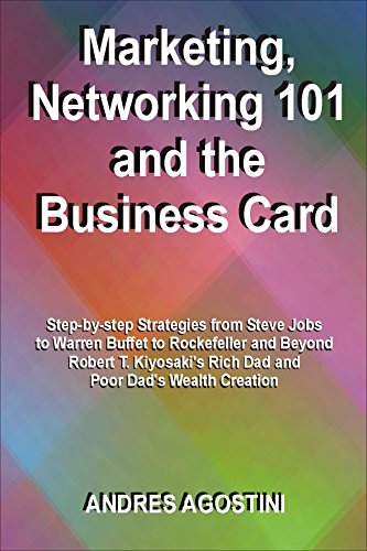 Marketing Networking 101 And The Business Card Step By Step