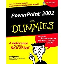 PowerPoint 2002 For Dummies by Doug Lowe (2001-06-15)