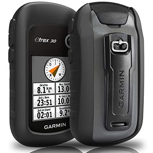 TUSITA hülle für Garmin eTrex 10 20 20X 22X 30 30X 32X - Silikon Schutzhülle Skin - Handheld GPS Navigator Zubehör (20-gps-zubehör Etrex Garmin)