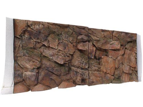 Aquarium Rückwand 3D Felsen 200x50 bei Robizoo
