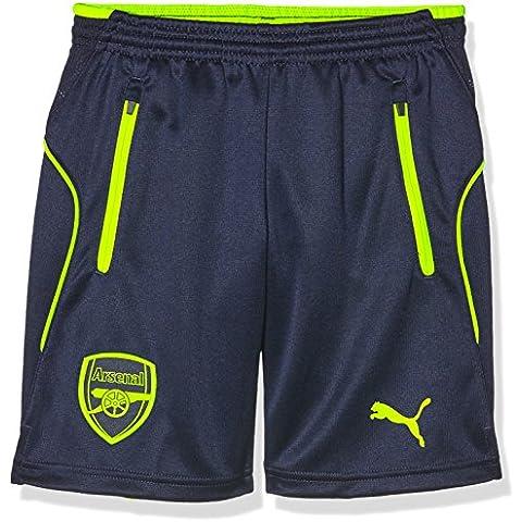 Puma AFC Niños Pantalones Cortos Para Entrenamiento with 2Side Pockets/Zip/inners