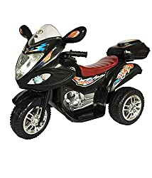 HLX-NMC BATTERY OPERATED FUN BIKE BLACK