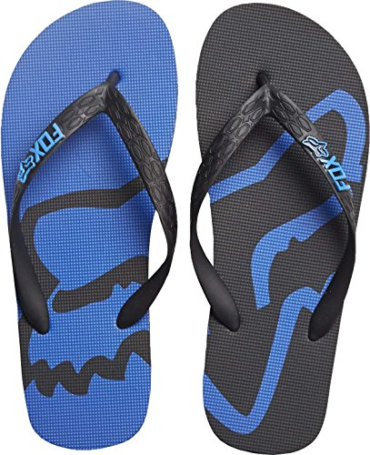 Infradito Fox Racing: Beached Flip Flop GR/RD Nero/Blu