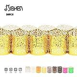 POP STREET Pop-LED-Teelicht-Kerzen, Dekorative Manschetten Holders- 50pcs für Flickering LED-Teelichter (Nicht im Lieferumfang Enthalten) Nuggets Age