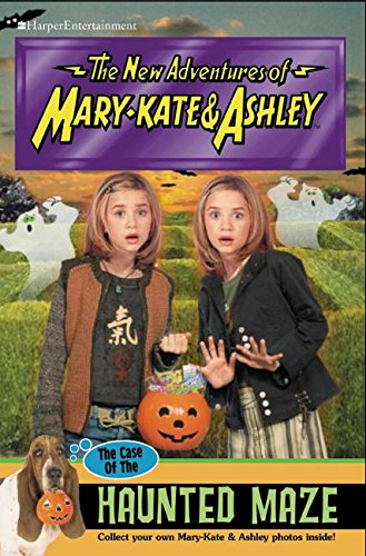 New Adventures of Mary-Kate & Ashley #43: The Case Of The Haunted Maze: (The Case Of The Haunted Maze)