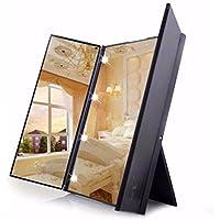 Lnxd Make Up Spiegel, Nachtlicht Reisen Machen Ankleidezimmer Badezimmer  Desktop Spiegel LED