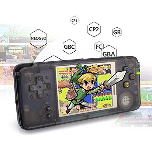 Spiele Kinder, elektronische Spiele, Game Boy, Spiele-Konsole Tragbare 3,0Zoll Rückseite mit Spielfunktionen 818verschiedenen