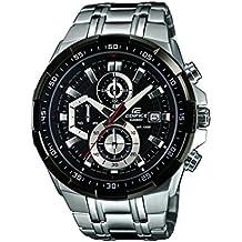 Casio Edifice Reloj Analógico de Cuarzo para Hombre con Correa de Acero Inoxidable – EFR-539D-1AVUEF
