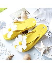 XIAMUO Koreanischen Sommer neuen Stil Original Hand Blume Seaside Sandalen Flip-Flops Flip-Flop-Sandalen und...