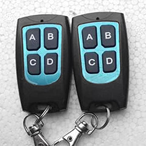 Cewaal Fernbedienung Duplicator 433MHz Frequenz Für Garagentor Bitte lesen Sie die Produktbeschreibung (Liftmaster Tür Batterie)
