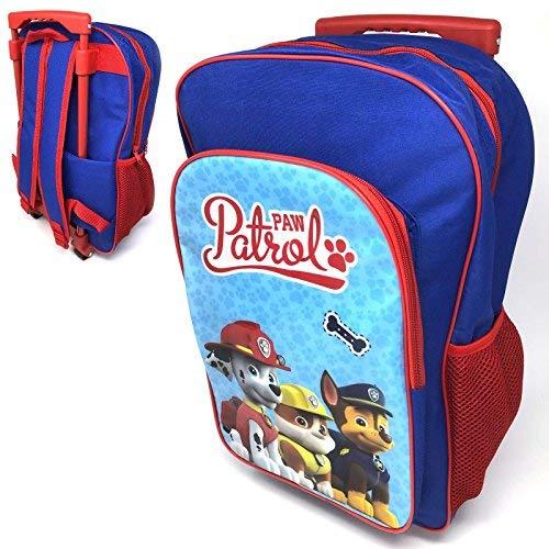 Krishwear Paw Patrol Deluxe Backpack Trolley Bag