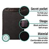 Brustbeutel für Damen und Herren zum Reisen – Brusttasche mit RFID-Blockierung – Umhängetasche Klein - 3