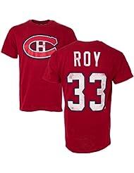 oth Canadiens de Montréal Patrick Roy # 33Alumni Hockey NHL T-shirt pour homme, petit