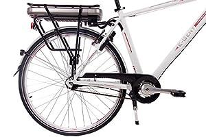 28 Zoll E-Bike Pedelec City Bike Herrenrad Fahrrad CHRISSON E-GENT mit 7G NEXUS & BAFANG 36V 13,4Ah Akku weiss matt