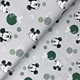 Swafing GmbH - Stoff - Disney Jersey Mickey Mouse Kopf
